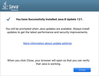 Java Free Download Screenshot