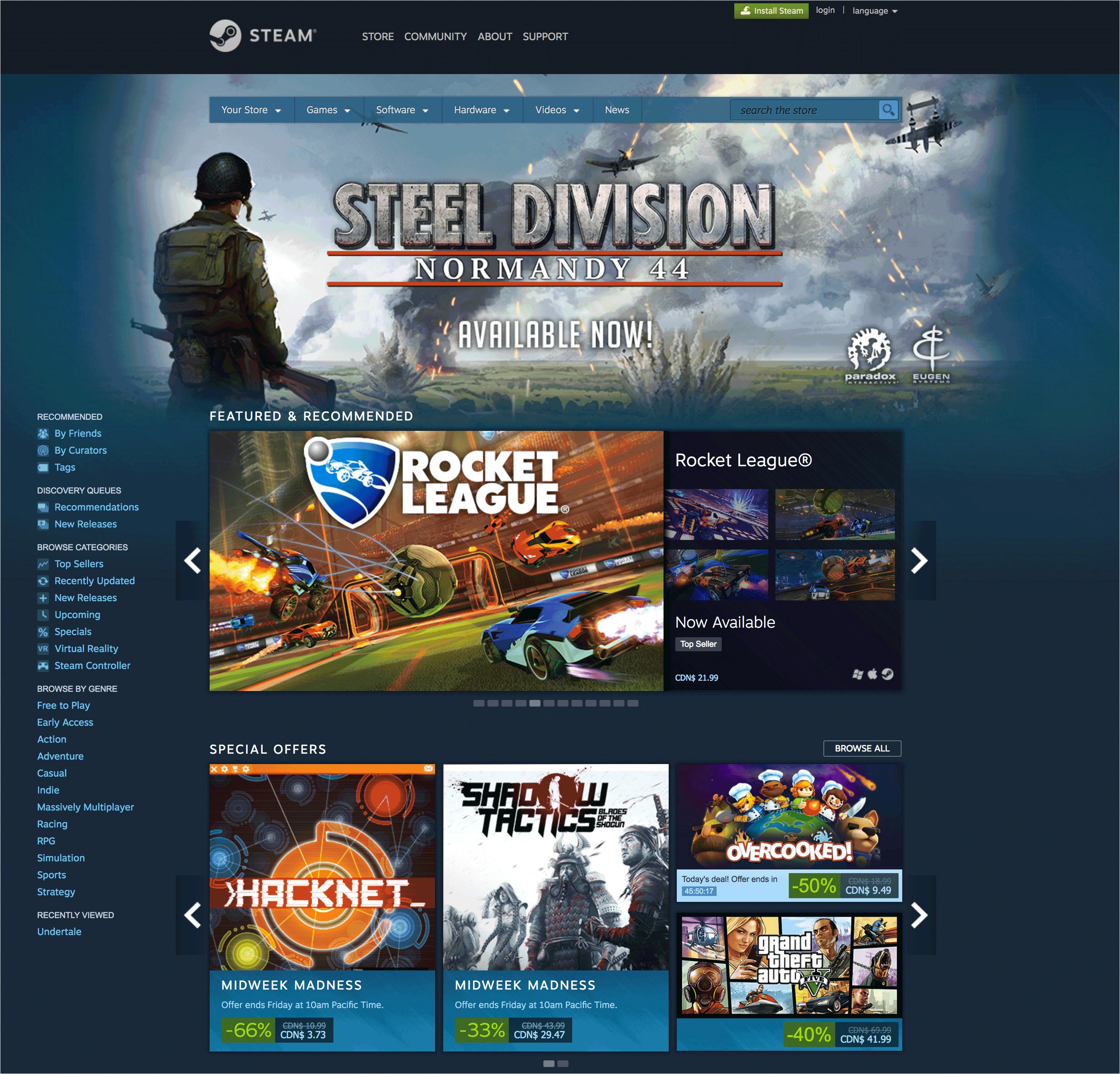 STEAM - Install Steam Today Screenshot