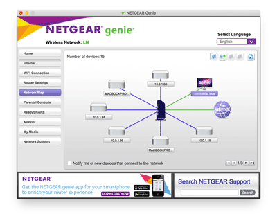 NETGEAR Genie Free Download Screenshot
