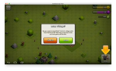 How to play clash of clans on pc and mac Screenshot