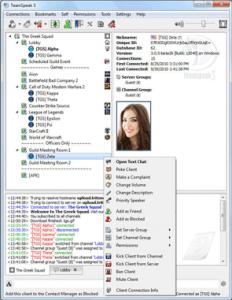 teamspeak Screenshot