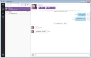 viber chat Screenshot