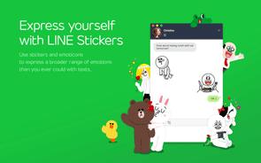 LINE Instant Messenger Screenshot