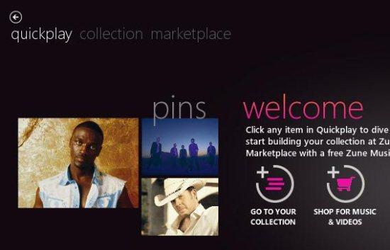 Zune Software Download Screenshot