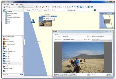 Garmin BaseCamp Free Download Screenshot