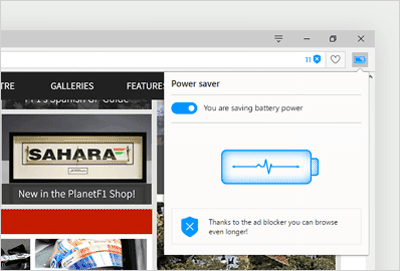 Opera free download Screenshot