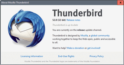 Mozilla Thunderbird free download Screenshot