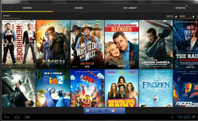 showbox on pc computer