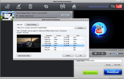 YouTube Video Downloader Screenshot