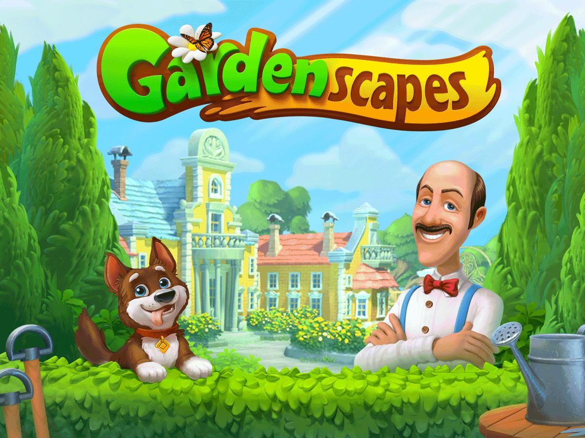 Gardenscapes Free Download Screenshot