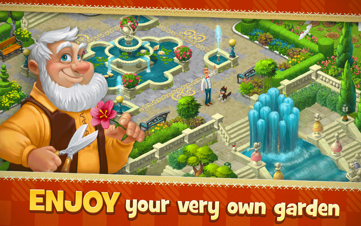 ... Gardenscapes Free Download Screenshot ...