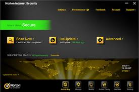 Norton Security Delux Screenshot