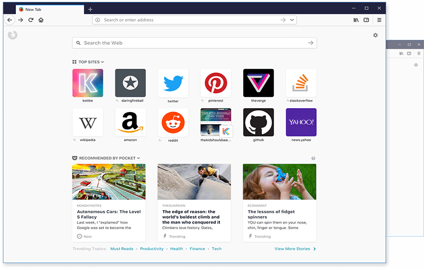Mozilla Firefox Screenshot