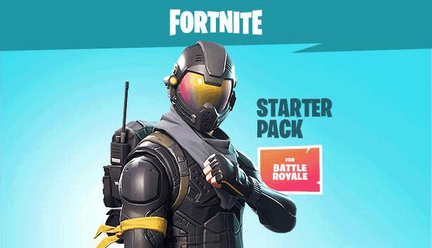 Fortnite Battle Royale Starter Pack Screenshot