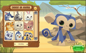 animal jam download and account set up Screenshot