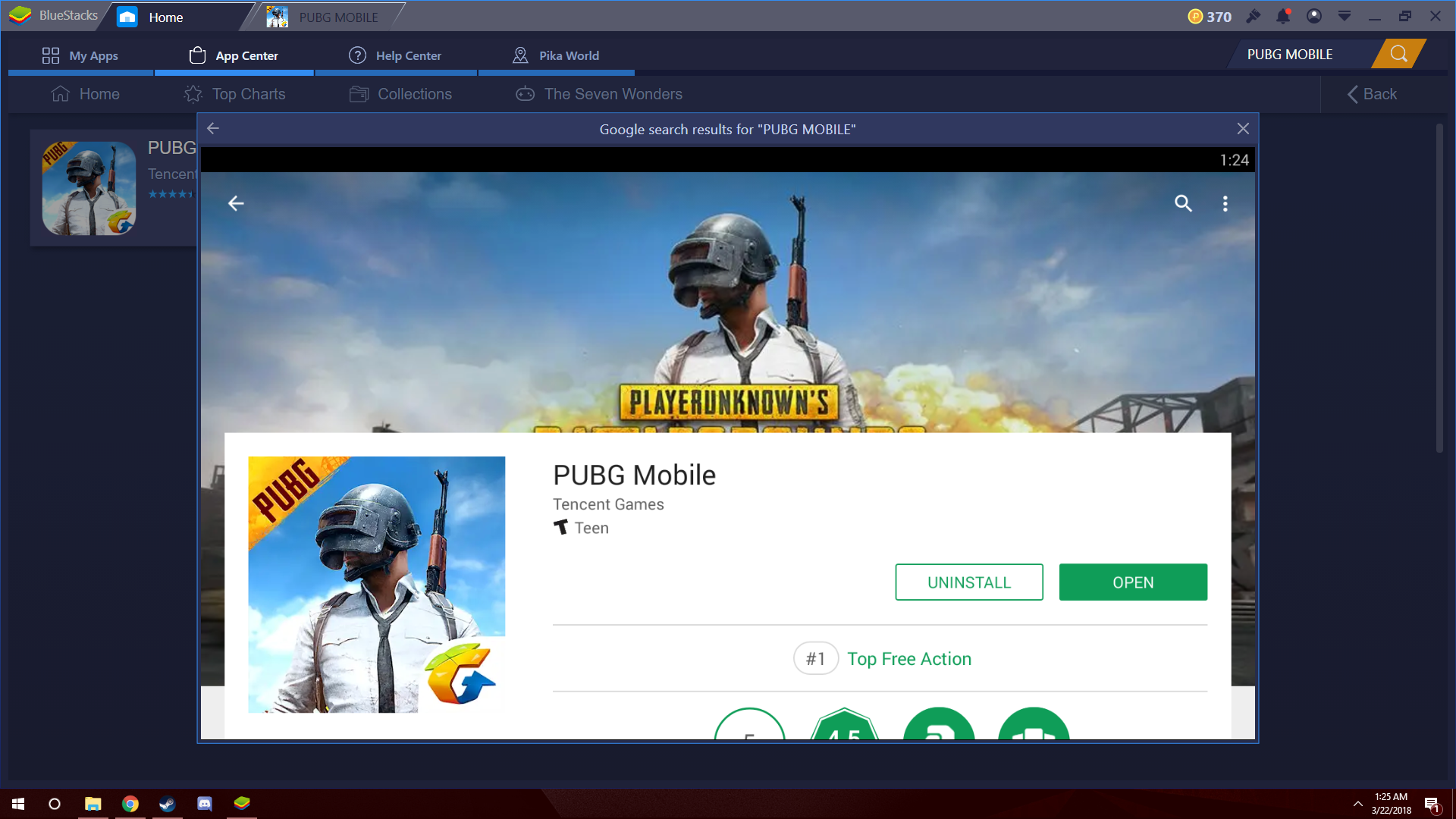 play pubg mobile on pc Screenshot