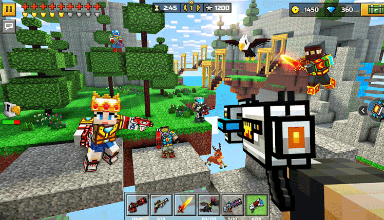 play pixel gun 3d on pc and mac Screenshot