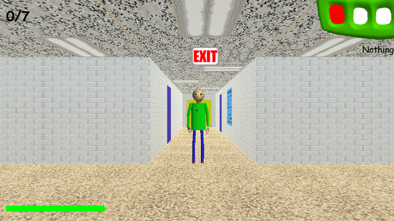 Baldi's Basics Screenshot