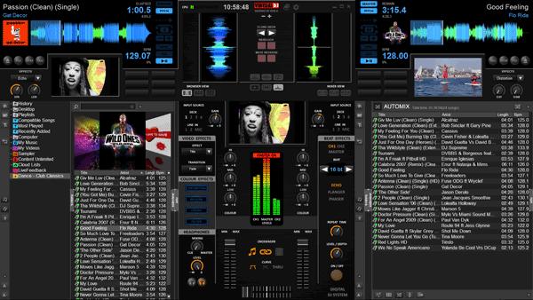 Virtually Pioneer - Virtual DJ Skin Screenshot