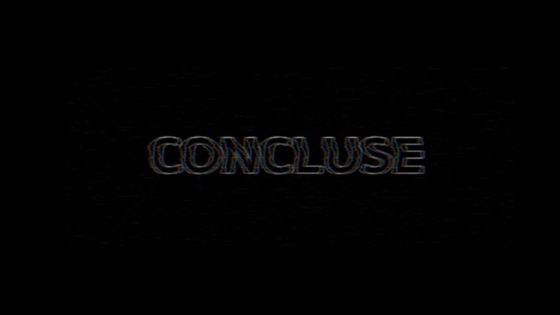 Concluse Horror Game