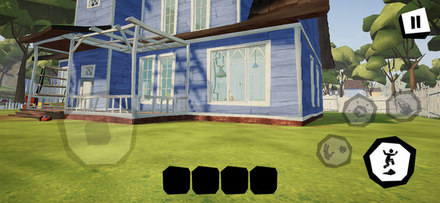 play the Hello Neighbor Mobile Game now on iOS and Android devices Screenshot