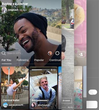 Instagram Social Media app download Screenshot