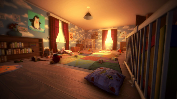 Among the Sleep horror game. Screenshot