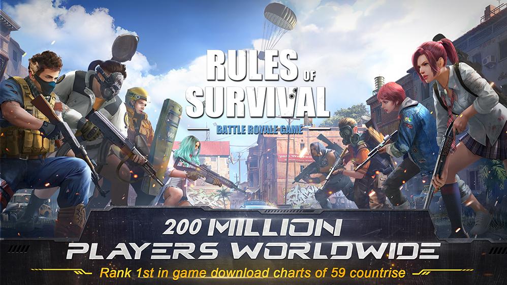 Rules of Survival Screenshot