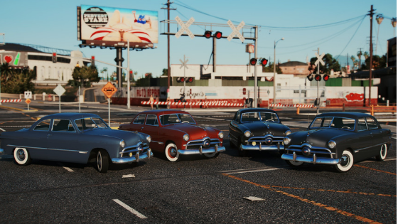 Four GTA 5 Mod Downloads