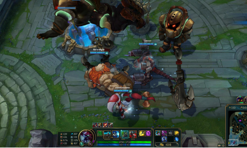 League of Legends online multiplayer battle arena download. Screenshot