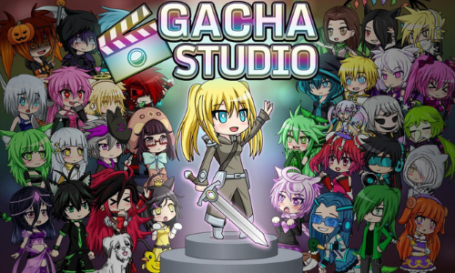 Gacha Studio Anime dress up app Screenshot