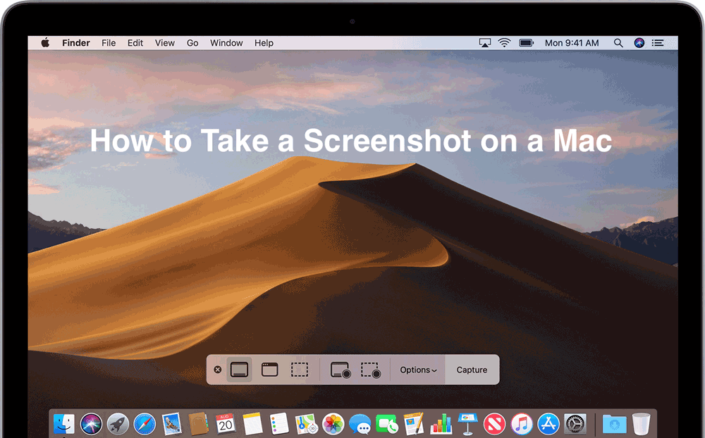 Learn how to take a screenshot on a mac