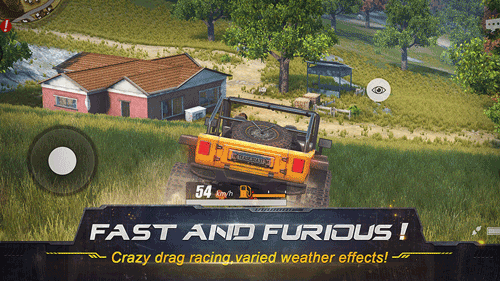 Rules of survival is a vehicle-based battle royale game. Screenshot