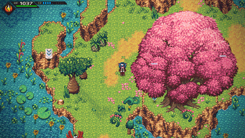 Crosscode is a retro-inspired 2D Action RPG set in the distant future. Screenshot